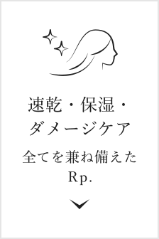 速乾・保湿・ダメージケア ホリスティックキュアドライヤー Rp.